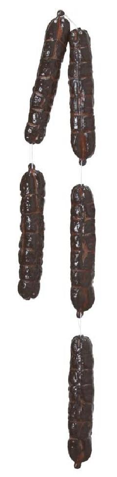 食品サンプル(サラミガーランド・全長140cm)VF1042コンビニ後払いの場合有