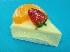 食品サンプルデザート(100mmフルーツチーズケーキ)DICA7003
