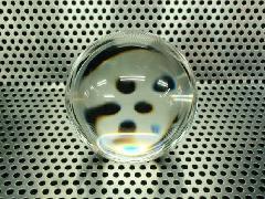 60mmΦ透明ガラス玉
