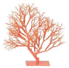 プラ製サンゴスタンドS25cm(オレンジ・DE1156S)