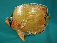 在庫処分ディスプレイ・トロピカルフィッシュ(オレンジ)L30cm