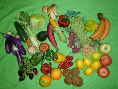 食品サンプル在庫処分果物&野菜セット(A)28種50個セット