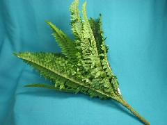 在庫処分造花�R(ジャングルボストンファンブッシュ(大)全長50cm