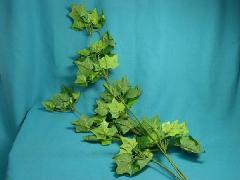 在庫処分造花31(アイビーロング3本枝・全長65cm・