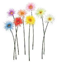 ブライダル用造花(ガ−ベラ・クリーム・花径12cm)FLS0704