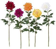 ブライダル用造花(ダリア・ホワイト・花径12cm)FLS5225