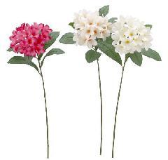 ブライダル用造花(プルメリア・ホワイト・花径6cm)FLS5158