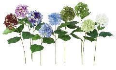 ブライダル用造花(オランダアジサイ・ホワイト・花径12cm)FLS736