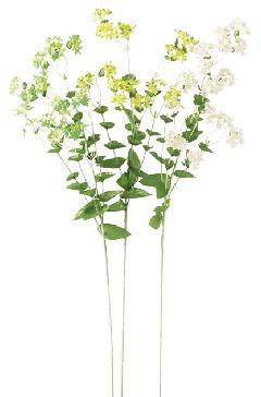 ブライダル用造花(ブプレリュウム×96・ホワイト・花径2cm)FLS725