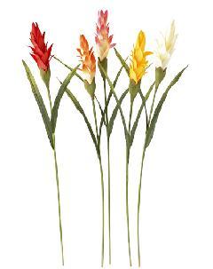 ブライダル用造花(グスマ二アフラワー・全長13cm・ホワイト)FLS676