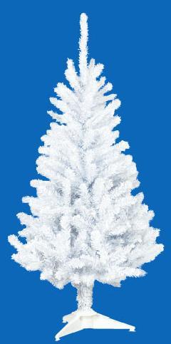 卸販売業務用クリスマスツリー(スリム・ホワイトh120・幅55cm)TXM2037