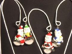 卸販売クリスマス雑貨(玉乗りサンタゆらゆらピック・4種12個入り)XM1149
