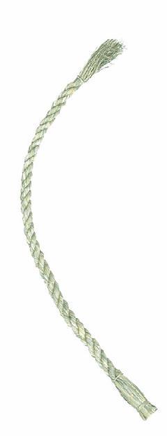 正月飾り・90cmしめ縄(M・幅約2.5〜3.5cm)自然素材 ND1003M