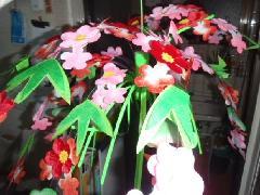 在庫処分正月飾り(松竹梅ポット・W60cm)