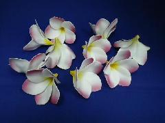 フラワーヘッド(プルメリア・ピンク/ホワイト)10輪付
