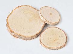 白樺輪切り3サイズ1セット(直径9〜20cm)ND296