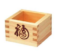 9cm桧一合枡(木製)大PADP8861