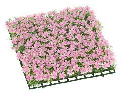 芝桜ガーデンマット30cm角プラ製FLE7011