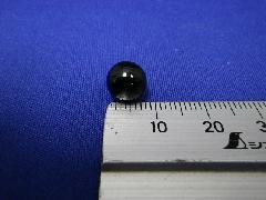 ビー玉・ガラス玉ブラックマーブル約8mm