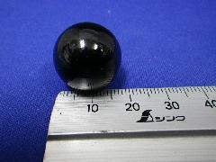 ビー玉・ガラス玉ブラックマーブル約20mm