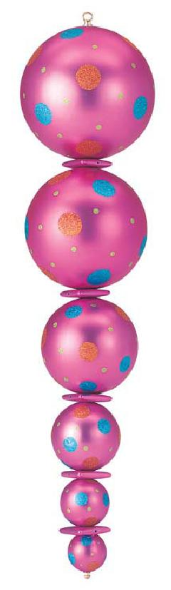 105cmカラーフィニアル(ピンク)DIFN6833
