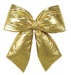 耐水60cm幅クリスマスリボン(ゴールド)DIRI6933