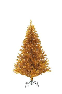 卸販売クリスマスノーブルパインワイドツリー(180cm・ゴールド)PATR6987