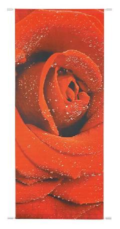 バレンタイン(レッドローズバナー)ポリエステル製DITA9883
