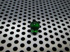 「クリアカラー(グリーン)」8mm×100粒
