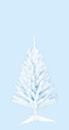 卸販売業務用ミニクリスマスツリー10本単位(45cmホワイト)TXM2034