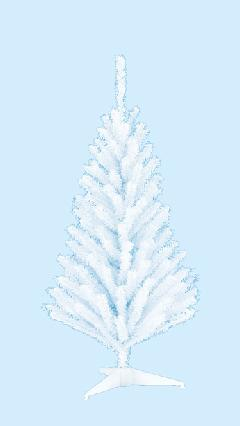 卸販売業務用ミニクリスマスツリー5本単位(60cmホワイト)TXM2034LL