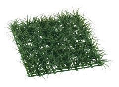 3枚セット卸価格ガーデンマット屋外可(ロンググラス(ダークグリーン)30×30×5cmプラ製)LEE7024