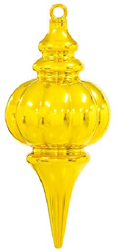 シャインスピアドロップ(ゴールド)12×26cmOXM1288