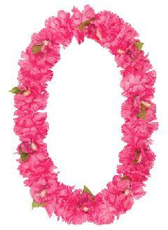 造花フラワーレイ(ハイビスカス・ピンク)FLE7012コンビニ後払いの場合有り