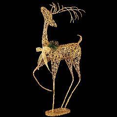 90cmゴールドシャイニースレンダートナカイ幅45奥行15cmポリ製DIRE6950