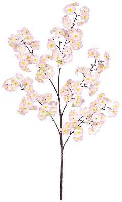 卸販売造花桜(大枝・全長100cm花径5cm・6本入り)FLS685