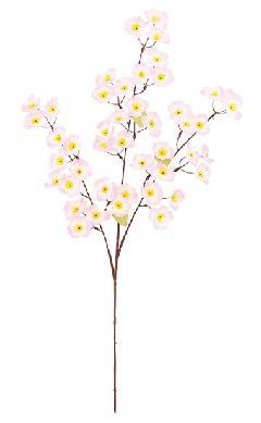 卸販売造花桜(枝スプレイS・全長80cm・花径5cm・12本入り)FLS5289S