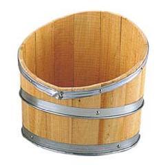 ディスプレイ用木製斜切樽・タル(S・全長30・幅30cm)PABO7519