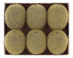食品ディスプレイ(キーウィ6個入り)スチロール製VF1157