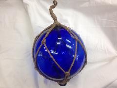 ディスプレイ(20cmグラスブイ・ブルー・グラス製)DIMA3733