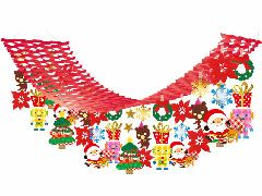 卸販売メリークリスマスMerryCristmasPOP5種セット「コンビニ後払いのみ・他商品同送不可」
