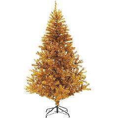 防炎クリスマスツリー(180cmゴールド幅120cm)PATR6987