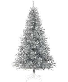 防炎クリスマスツリー(240cmシルバー幅150cm)PATR6991