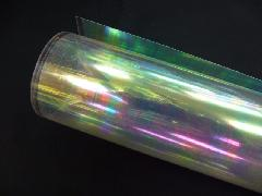 PVCロールシート(オーロラ透明)0,2mm厚×92cm幅×50M巻き