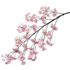 卸販売造花桜(大枝・全長140cm花径5cm・2本入り)FLSP1427他商品同送不可
