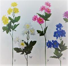 1本¥99造花(ワイルドアネモネ・単色48本入り)2992