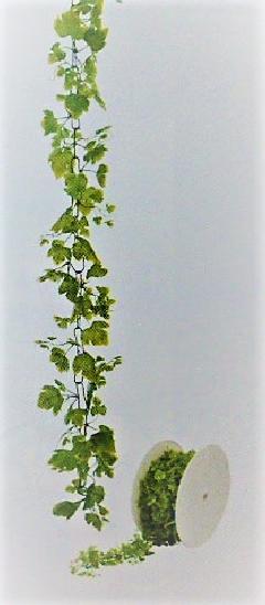 造花つたプラスチック製造花ロールチェーンガーランド30M巻(グレープ)GLA1190「コンビニ後払いの場合あり