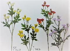 1本¥138造花(ニュー小菊スプレイ×3輪・単色36本入り)2948