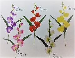 1本¥138造花(グラジオラス・単色36本入り)9295