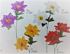 1本¥138造花(オリエンタルダリア×2輪・単色36本入り)2988